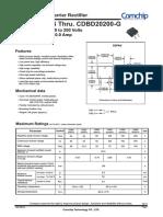 Datasheet cdb020