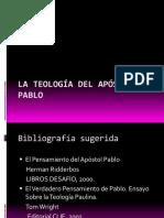 LA TEOLOGIA DE PABLO