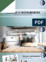 HERRAMIENTAS Y TECNICAS PARA RECOPILACION DE INFORMACION