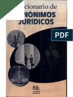 Sinonimos y Antonimos Juridicos