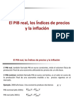 Presentación 4. PIB Real, Ïndices de Precios y La Inflación 050919