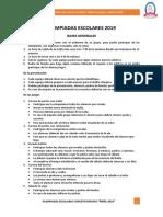 OLIMPIADAS ESCOLARES 2019