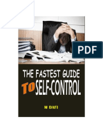The Fastest Guide to Self-Control