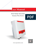 SAJ Sununo Plus User Manual V4.001