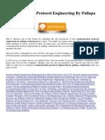 Communication Protocol Engineering by Pallapa Venkataram