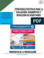 Estrategias Efectivas para la Evaluación, Diagnóstico y Redacción de Informes.pdf