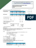 Stability Report for Bentonite Tank