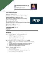 Leonard Pua's Resume