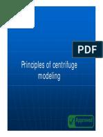 3 Centrifuge Modeling