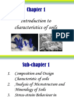 Chapter 1- Characteristic of Soil