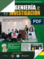INGENIERÍA E INVESTIGACIÓN N°13