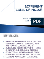 Definitions of Noise