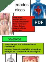 Enfermedades sistemicas y relacion con la odontología