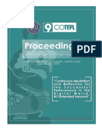 Proceeding of COTEFL 9th 2018