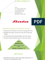 Presentation on Bata case study