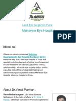 Lasik Eye Surgery in Pune- Mahaveer Eye Hospital