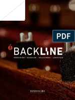Percussion backline by Repercusión Producciones