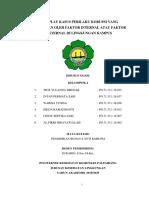 Role Play Kasus Perilaku Korupsi Yang Disebabkan Oleh Faktor Internal Atau Faktor Eksternal Di Lingkungan Kampus Kelompok 4