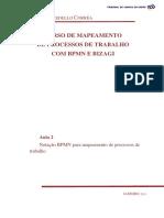 Curso de mapeamento de processos de trabalho com BPMN e BIZAGI