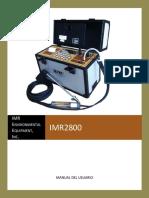 2800Manual Spanish Medidor de gases