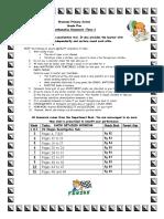 TS_Maths Homework Sheet Term 3-2019