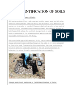 Field Identification of Soils