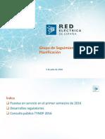 20160705 Presentación Códigos de Red GSP