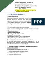 Guia Propia Para La Elaboracion Del Perfil de Proyecto de Innovación en Madera
