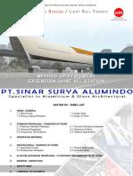 Pt SSA Sinar Surya ALumindo - Lampiran Methode LRT - Approval Louvre Interior