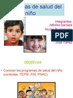 programa de salud del niño II