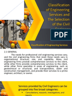 Classification of Engineering Services and The Selection of Civil Engineer