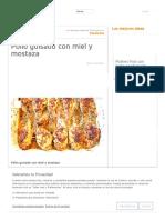 Pollo Guisado Con Miel y Mostaza _ Cocina