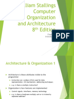 Computer Architecture and Organization 8th Edition