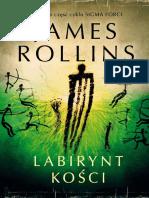 Labirynt Kosci - James Rollins
