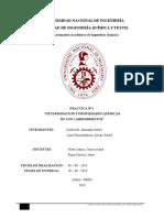 laboratorio N°2 Determinacion y propiedades quimicas de los carbohidratos