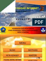 Slide Power Point Pengantar Internet