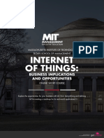 MIT Internet of Things Online Short Course Brochure