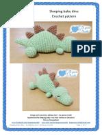 Sleeping Baby Dino - Eu Quero Croche - Adriana Gori - EnG.c (1)
