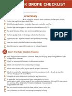 Drone Checklist April 2018