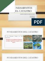 Fundamentos Del Catastro