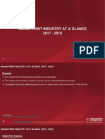 INDIAN PRINT INDUSTRY AT A GLANCE (2017 - 2018)