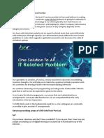 AYN InfoTech, Best IT Service Provider