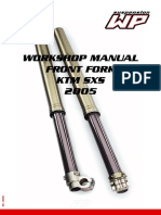 WP Fork SXS Manual