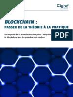 Cigref Blockchain Passer de Theorie a Pratique Enjeux Transformation Grandes Entreprises 2018