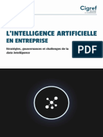 Cigref Intelligence Artificielle en Entreprise Strategies Gouvernances Challenges Data Intelligence 2018
