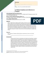 Maningat 2013 How Do We Improve Patient Compliance