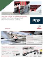 Schindler 9500 Inclined Moving Walk Brochure