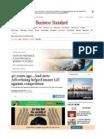 LIC economic times article