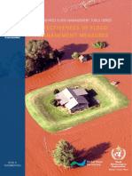 IFMTS-Effectiveness of Flood Management Measures WMO