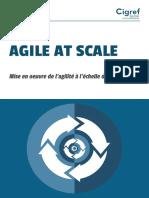 Cigref Agile at Scale Mise en Oeuvre Agilite Echelle Entreprise 2018